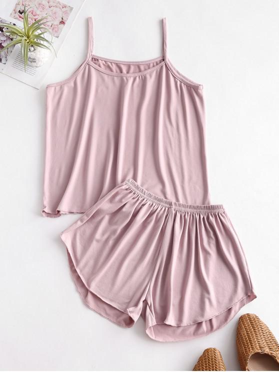 Conjunto de Pijama Plano Cami - Rosa M