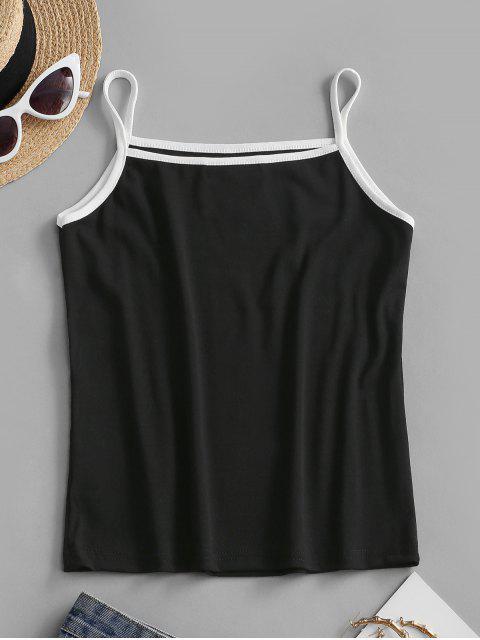 Haut à BretelleBrodé - Noir Taille Unique Mobile