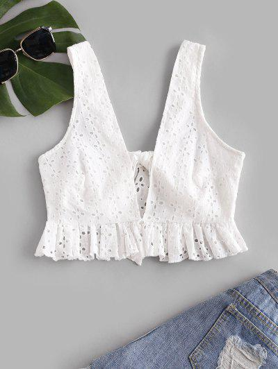 Tank Top Broderie Anglaise