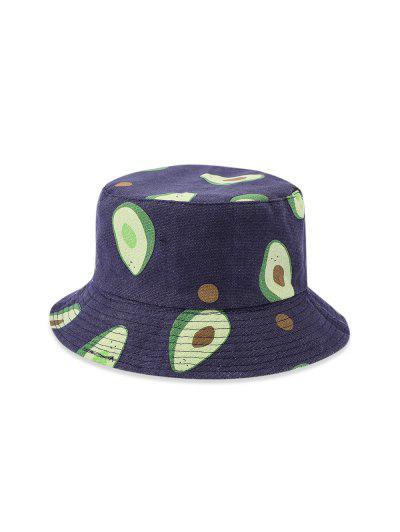 Avocado Pattern Bucket Hat