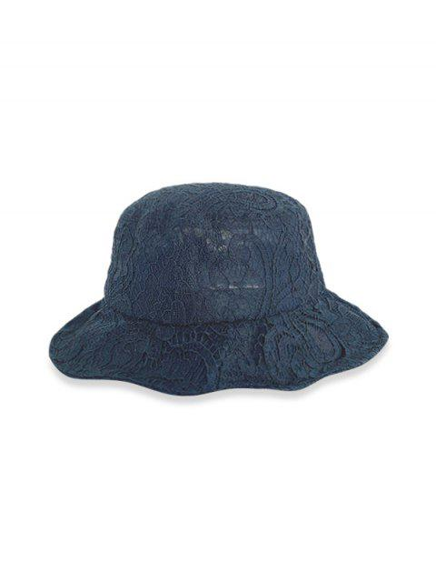 new Lace Breathable Bucket Hat - BLACK  Mobile