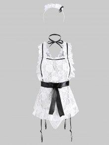 Garter Slip Headband Maid Costume