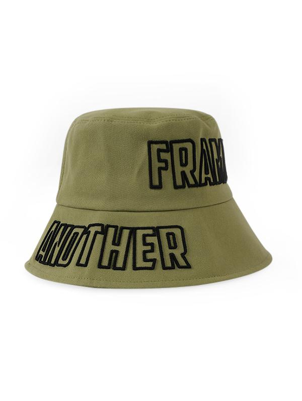 Letters Embroidery Outdoor Bucket Hat