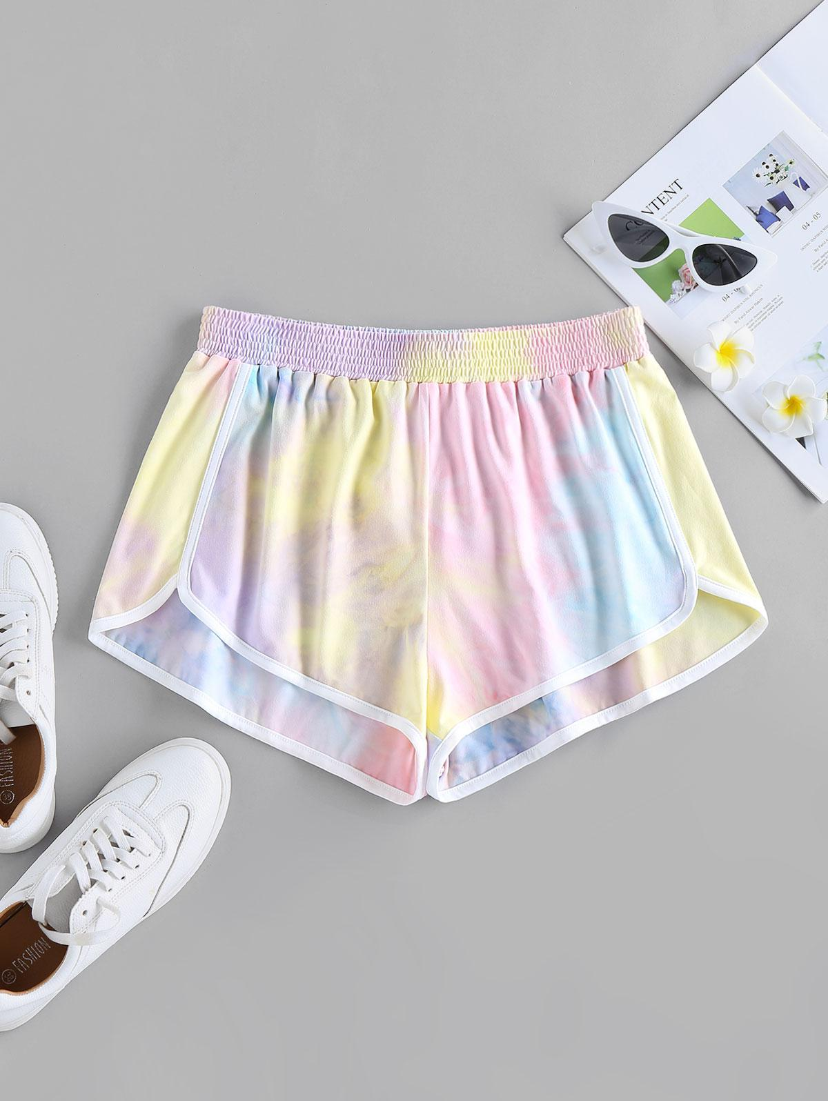 ZAFUL Tie Dye Dolphin Shorts