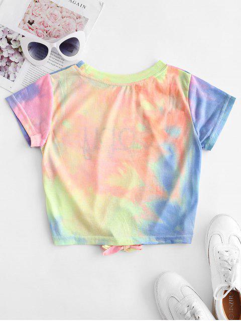 Camiseta com mandas compridas estampa gráfica - Multi-B S Mobile