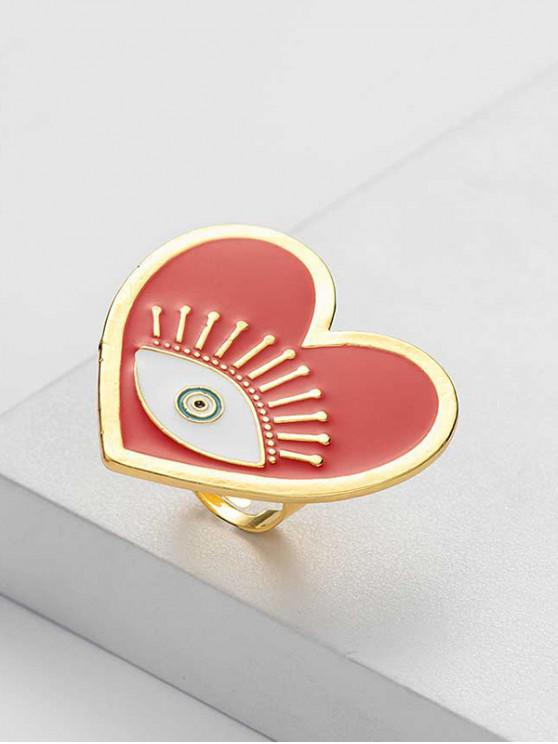 outfits Eye Pattern Open Ring - GOLD