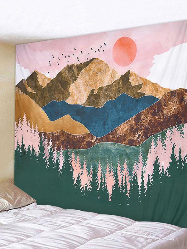 Sunset Hills Print Wall Hanging Tapestry