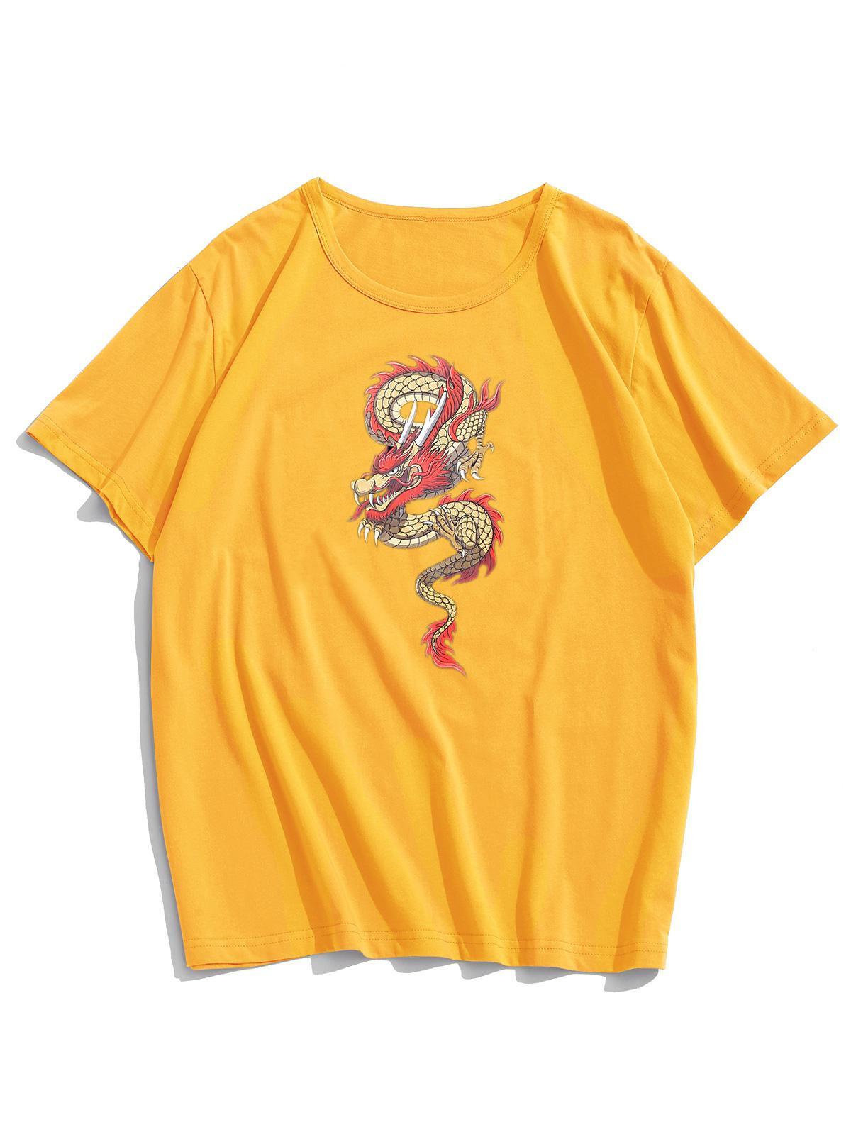 Dragon Graphic Short Sleeve Lounge Tee thumbnail