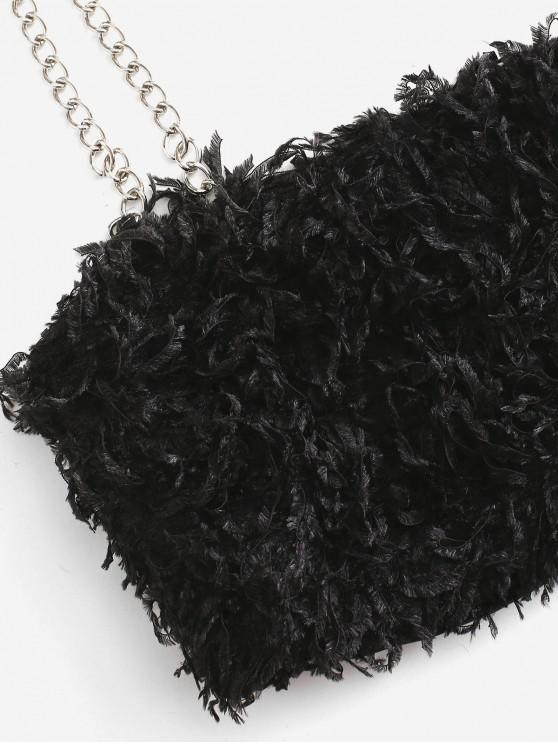 Fringed Chains Strap Two Piece Set - Black Xl | ZAFUL