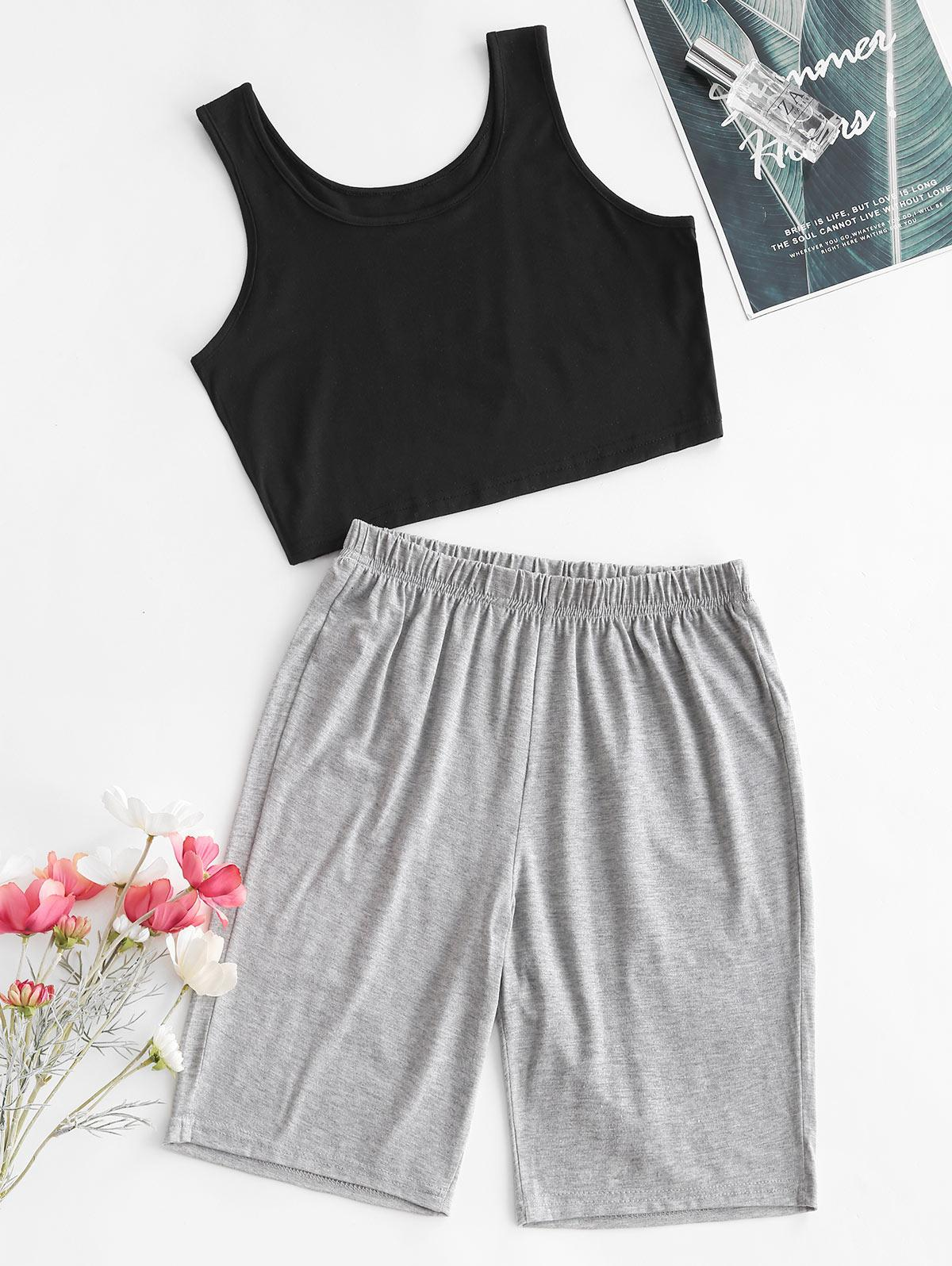 Marled Two Piece Set