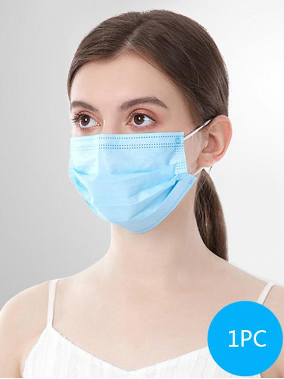 hot 1PC 3-layer Disposable Breathing Masks With FDA And CE Certification - SKY BLUE 1PC