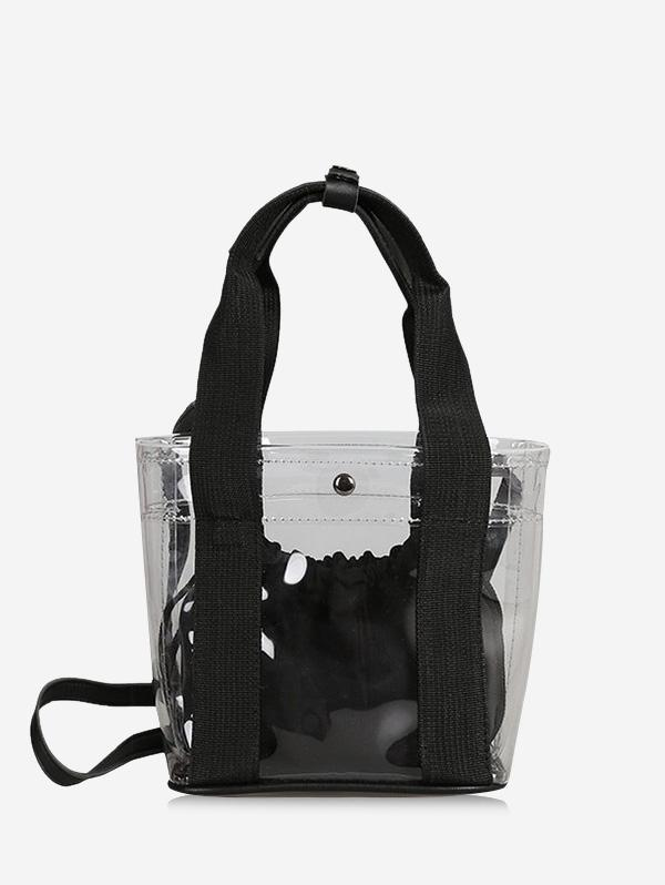Beach Transparent Crossbody Bag Set