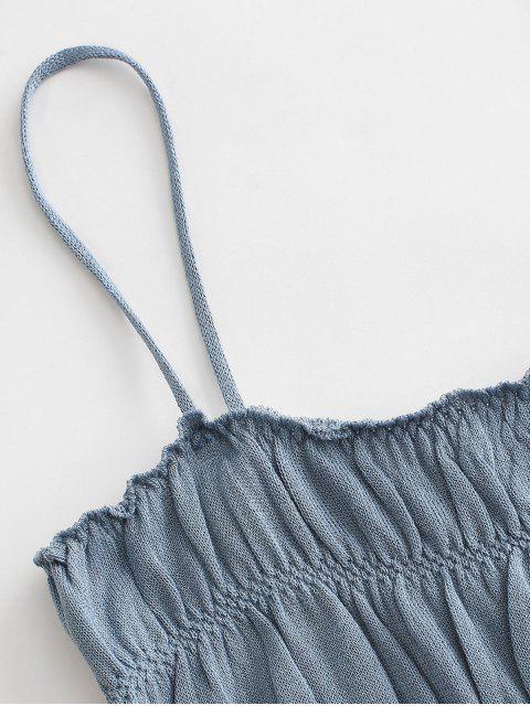 Regata Cami Liso Estampada - Azul Um Tamanho Mobile