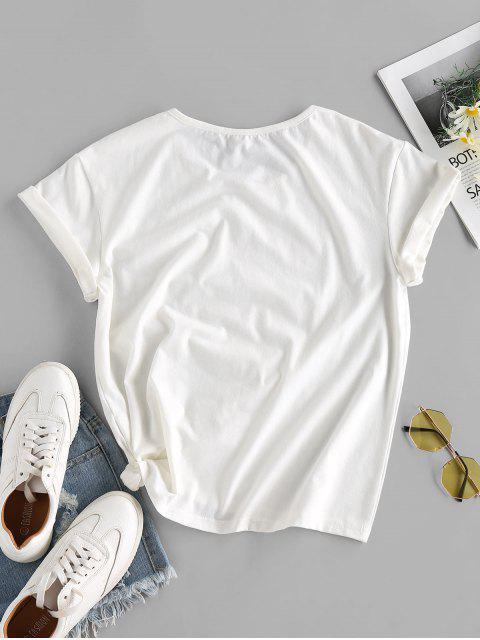 ZAFUL Camisa do Clube do do do do Clube - Branco M Mobile