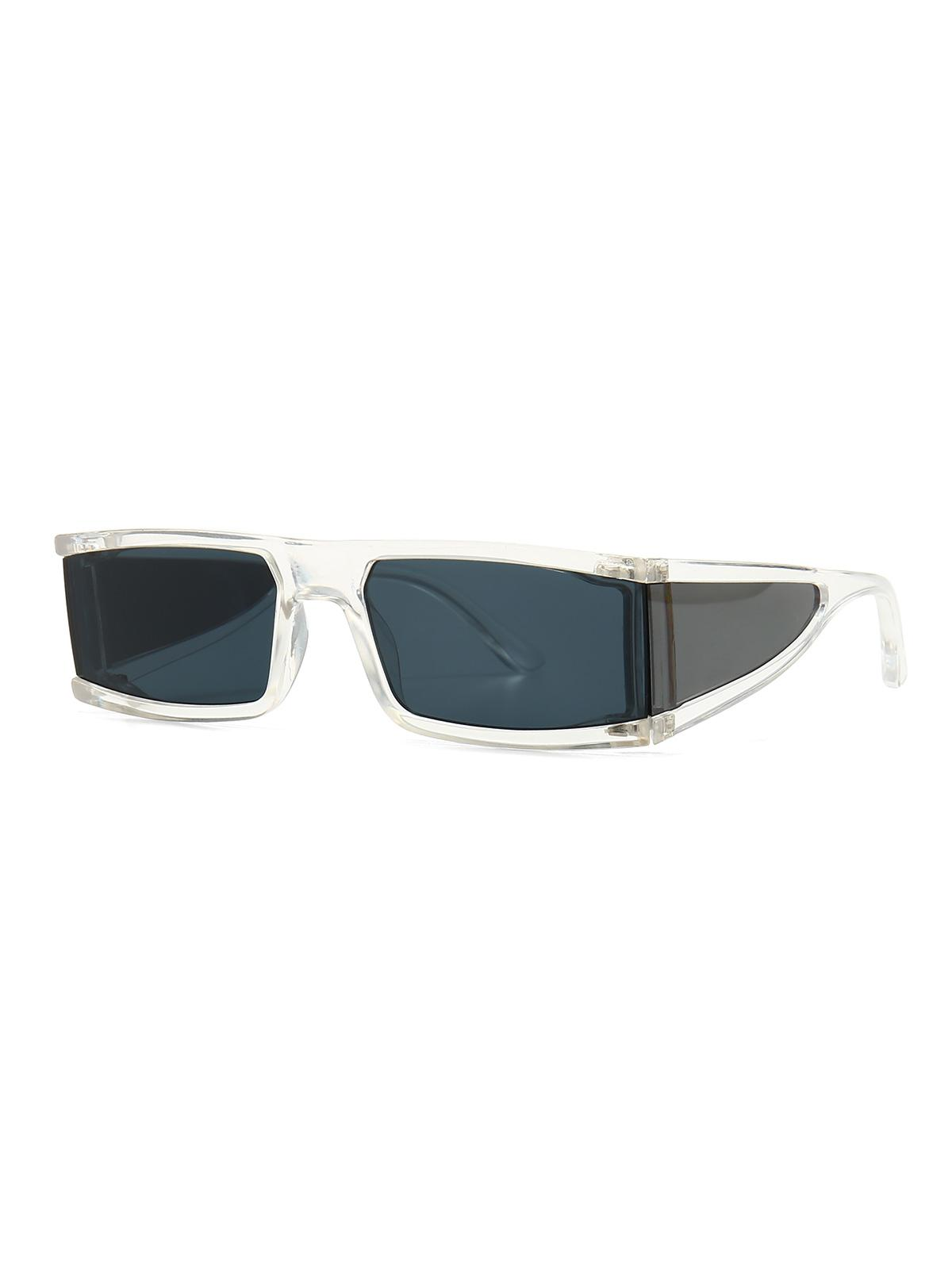 One-piece Outdoor Rectangle Sunglasses