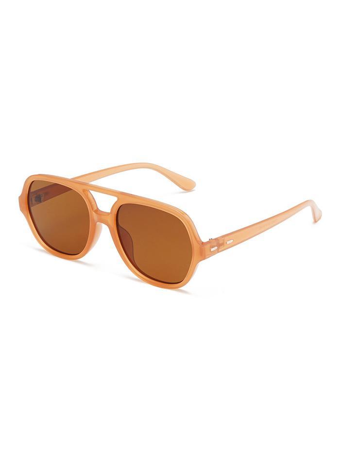 Oversized Retro Unisex Bar Sunglasses