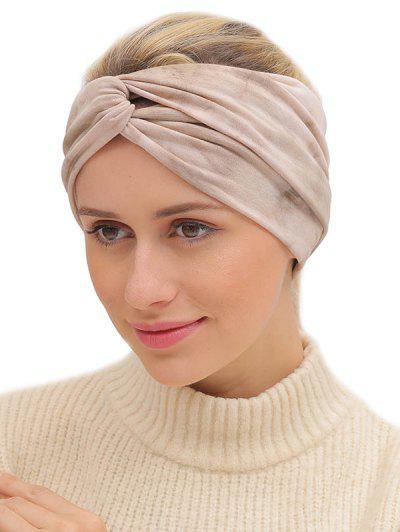 Bohemian Elastic Tie Dye Fitness Headband - Multi-b