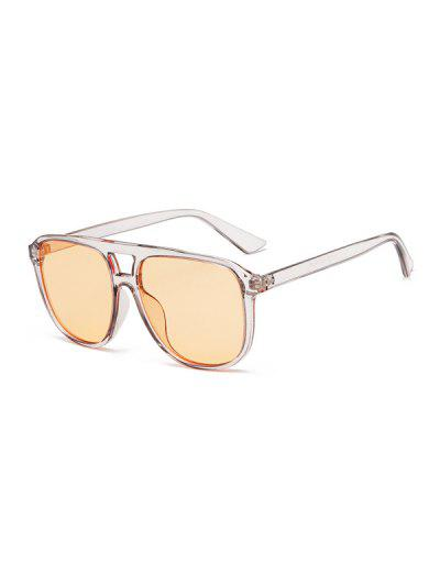 Driving Square Bar Sunglasses - Gray