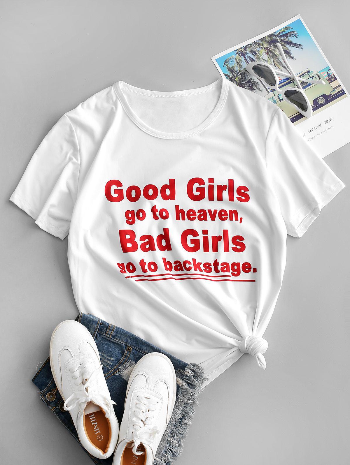 Good Girls Graphic Short Sleeve T-shirt