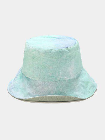 Reversible Tie-dye Bucket Hat - Light Cyan