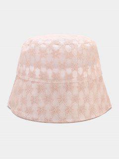 Кружевная Солнечная Шляпа Цветок - розовый
