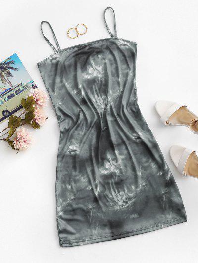 Mini Vestido de Tirante Fino de