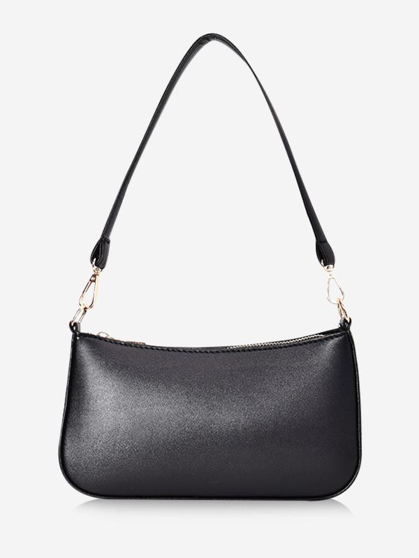 Solid Rectangle Shoulder Bag