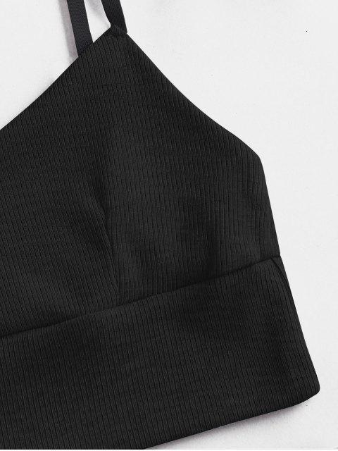 EnsembledeDeux Pièces T-shirt et Short Côtelé - Noir M Mobile