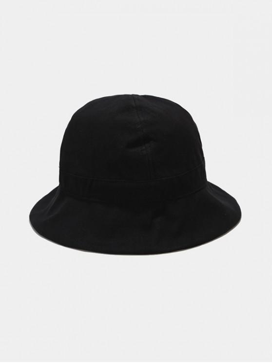 shops Plain Sun Fisher Hat - BLACK