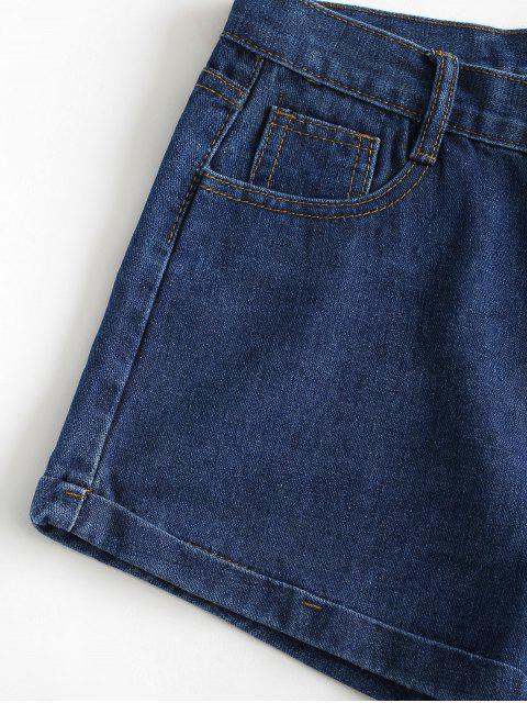 Pantalón Vaquero Shorts - Azul Oscuro de Denim M Mobile