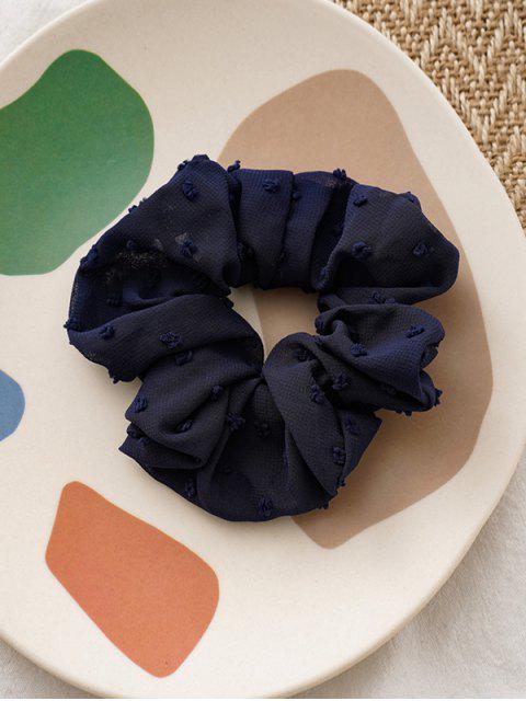 Reine Farbe Clip Tupfen Elastische Haargummi - Kadettenblau  Mobile