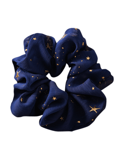 Gilding Star Elastic Fabric Scrunchies