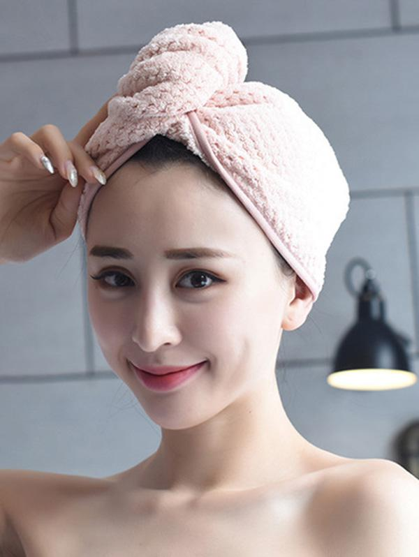 Water Absorbent Hair Bath Quick-drying Towel Hat