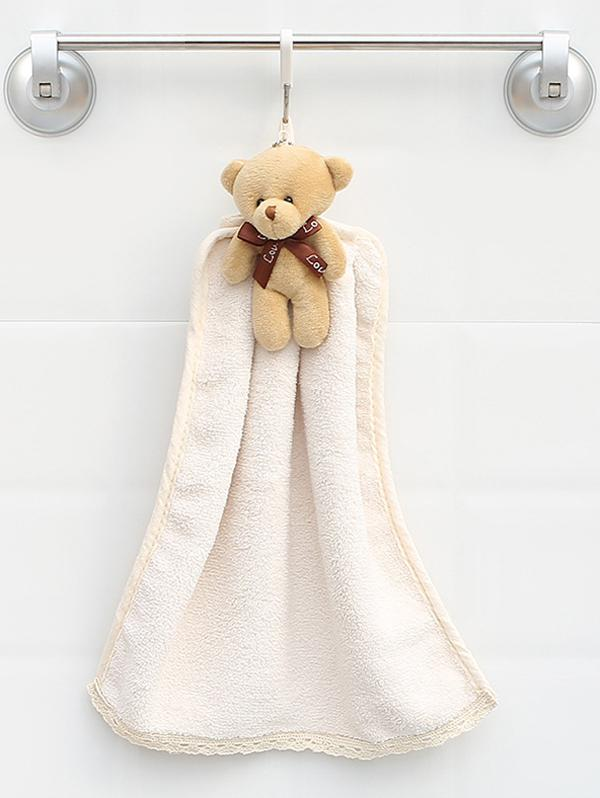 Cartoon Bear Design Water Absorption Towel