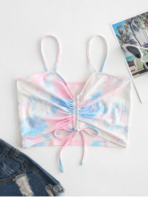Top Corto di Tie-Dye di ZAFUL - Multi Colori-A M Mobile