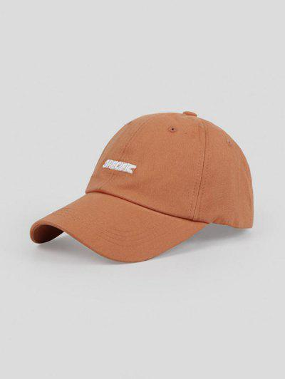 Outdoor Letters Baseball Cap - Caramel Adjustable