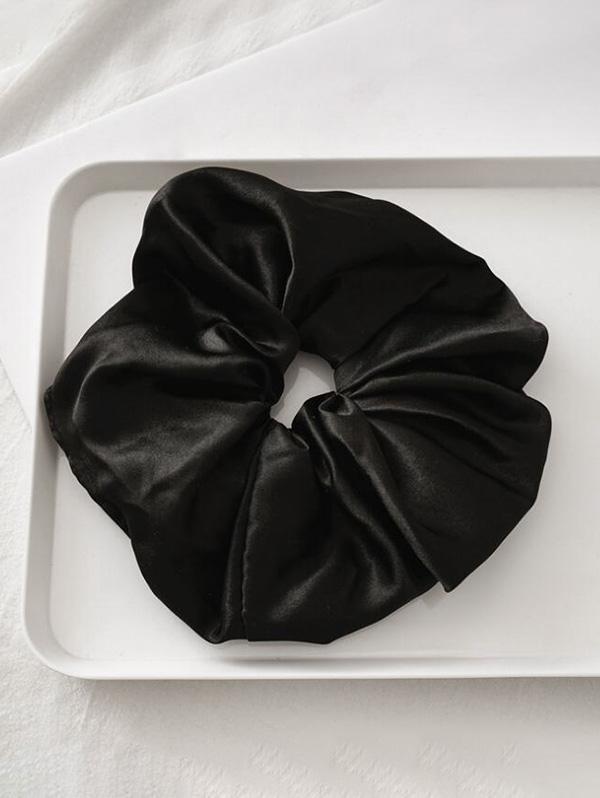 Satin Elastic Fabric Scrunchy