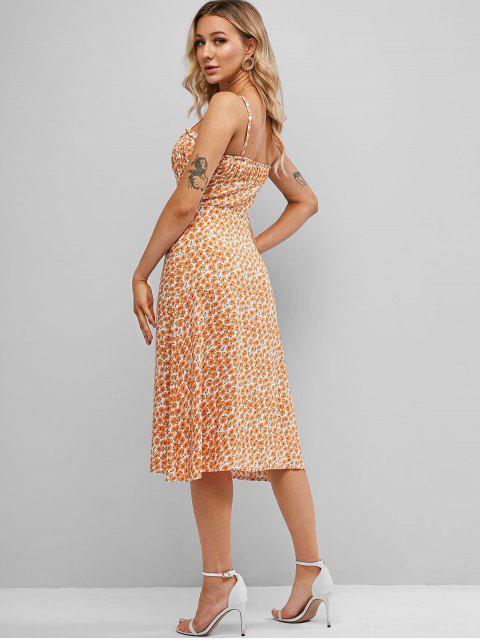 Tie Dye Cami Vestido - Abelha Amarela XL Mobile