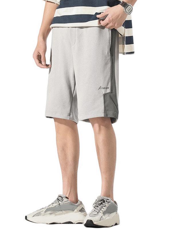 Zaful Contrast Casual Shorts