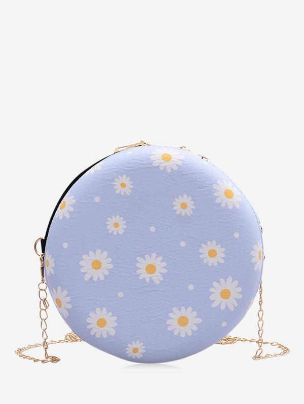 Daisy Print Chain Canteen Bag
