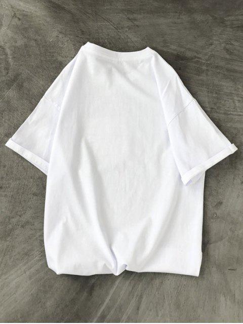 T-Shirt Grafica - Bianca XS Mobile