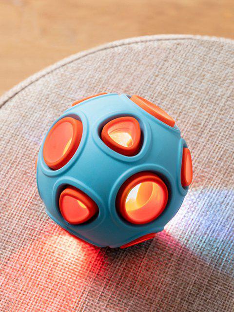 Pet Toy Luminous Training Ball - Azul Denim 8cm Mobile
