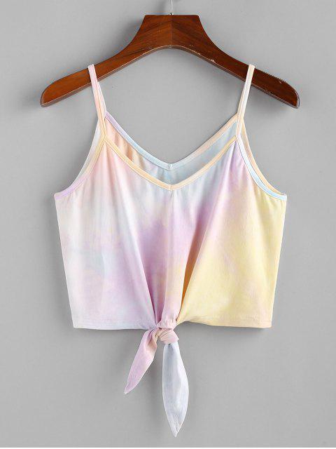 Top Corto di Tie-Dye di ZAFUL - Multi Colori S Mobile