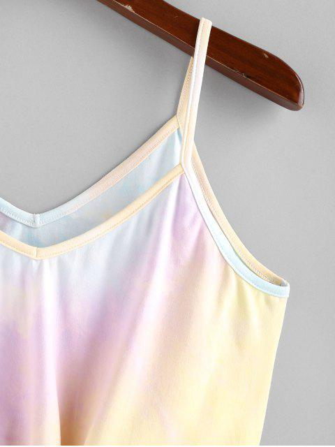 Top Corto di Tie-Dye di ZAFUL - Multi Colori L Mobile