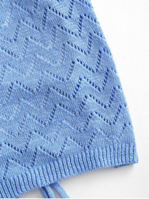 Noctilucente de nuvem punho de ouvido - Azul Um Tamanho Mobile