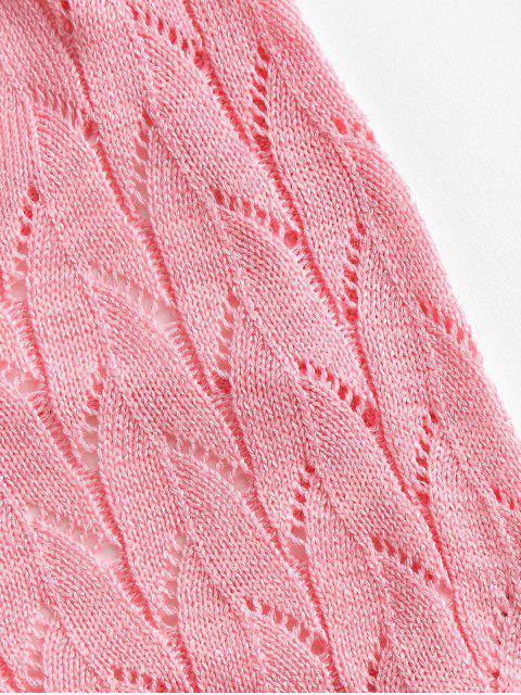 Cortado - Luz rosa Um Tamanho Mobile