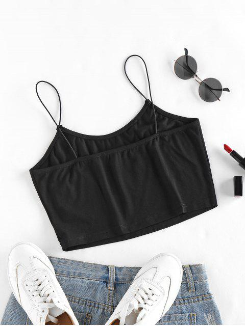 ZAFUL Carta Cami Regata Estampada - Preto M Mobile