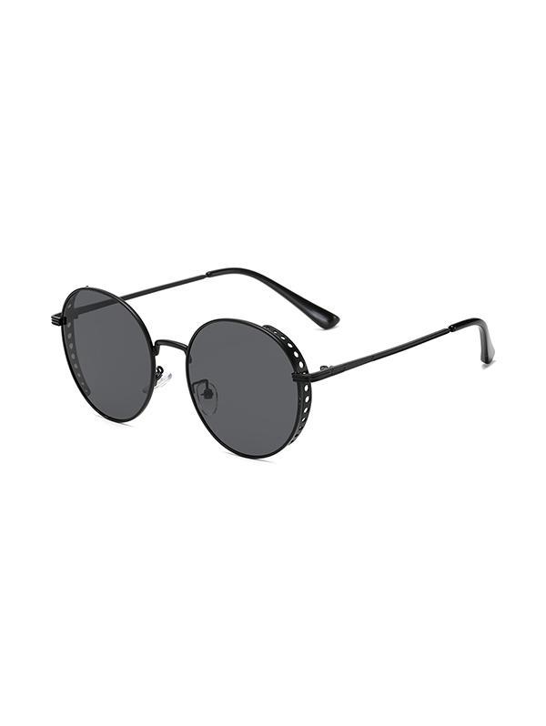 Retro Hollow Holes Round Sunglasses