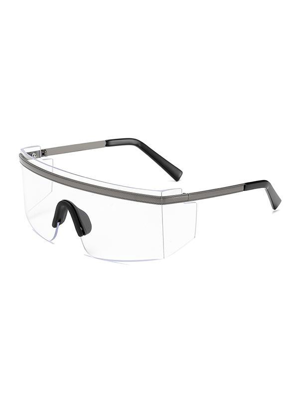 One-piece Anti-wind Oversized Sunglasses