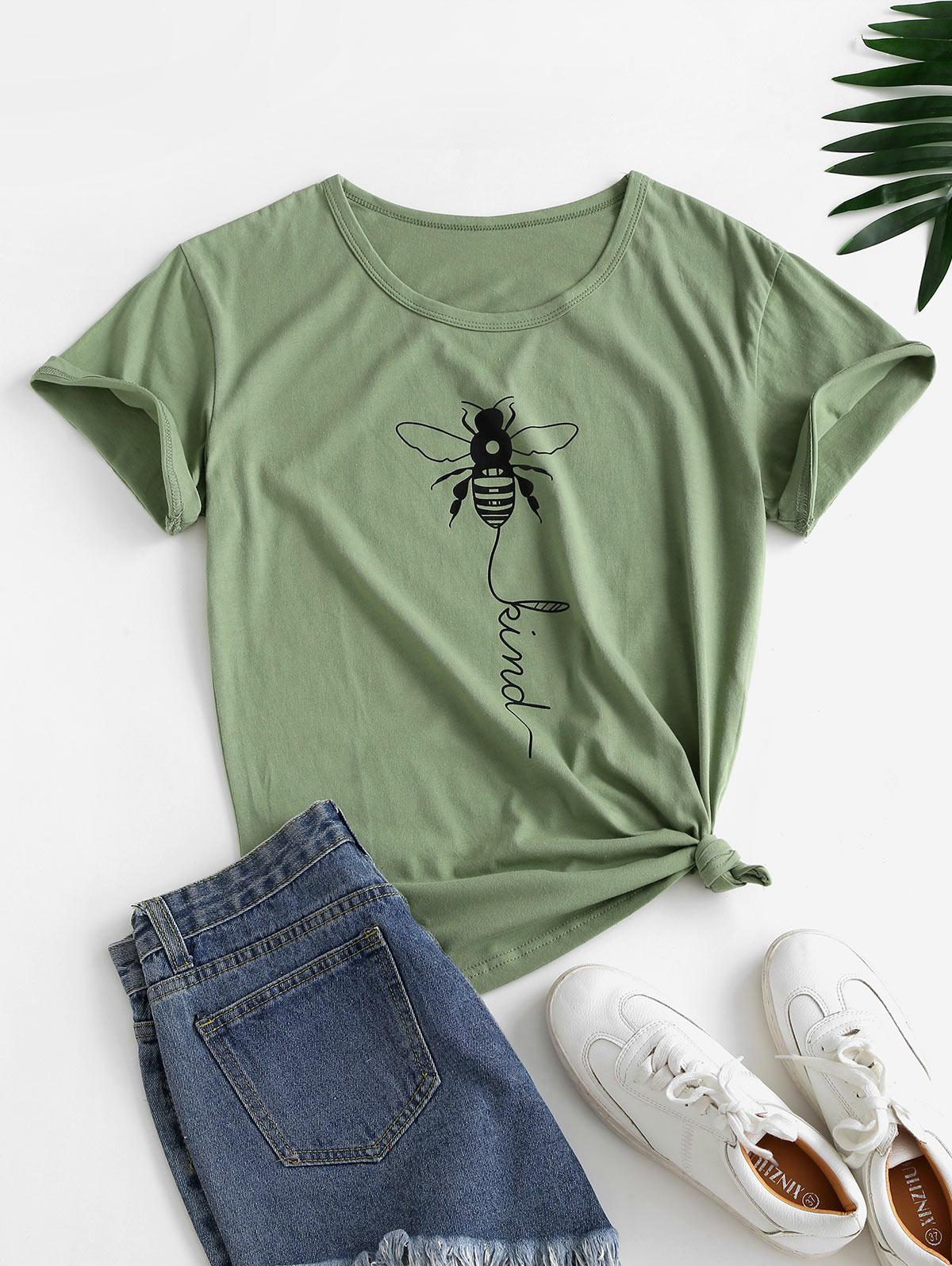 Basic Insect Graphic Tee